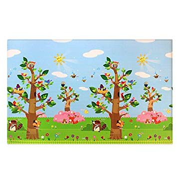 Baby Care Large Baby Play Mat In Birds In Trees Review